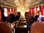 Interno di treno Sudest, Gerardo Placido e Paolo Rausa