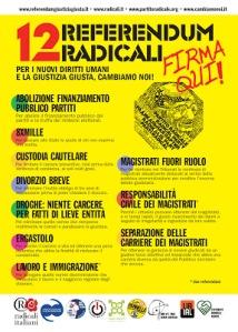12 referendum radicali