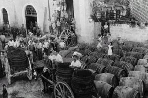Fiera di Ortelle-vendita del vino