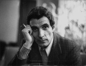 Gianfranco Moroldo (Milano 1927-2001) autore del libro di memorie Passaporto numero 953647H. Professione a rischio, Rizzoli, 1992. (C) Centro documentazione Rcs
