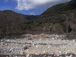 Il letto dello Stilàro e la Valle del Pardalà