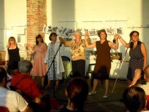 Volti delle donne alla Biblioteca Chiesa Rossa, Milano, 8 giugno