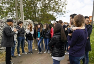 gli studenti e il dolmen chianca