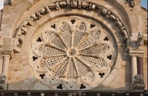 Cattedrale di troia, il rosone