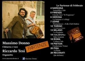 Locandina Tour Inverno 2016 Massimo Donno - Riccardo Tesi